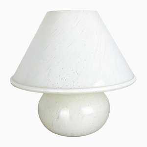Glass Mushroom Table Lamp from Limburg, 1970s