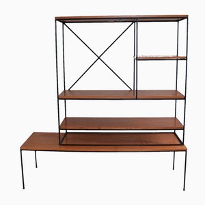 Room Dividing Shelving Unit by Planner Group for Winchendon, 1950s