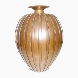 Vaso in bronzo di Evan Jensen, 1939