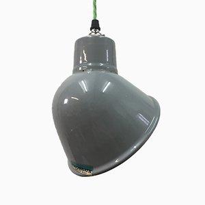 Lampe à Suspension Vintage Parabolique en Émail de Thorlux, 1950s
