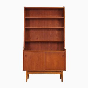 Vintage Teak Bookcase by Johannes Sorth