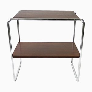Vintage Tubular Steel B12 Side Table by Marcel Breuer