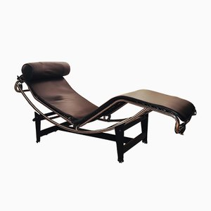LC4 Chaise Lounge by Le Corbusier, Pierre Jeanneret & Charlotte Perriand, 1970s