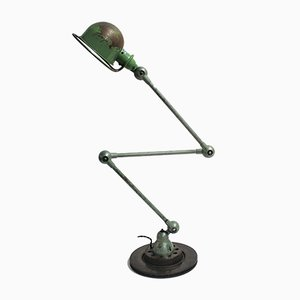 Industrial Articulated Floor Lamp by Jean-Louis Domecq for Jieldé, 1950s