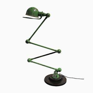 Lámpara de pie articulada industrial vintage de Jean-Louis Domecq para Jieldé, años 50