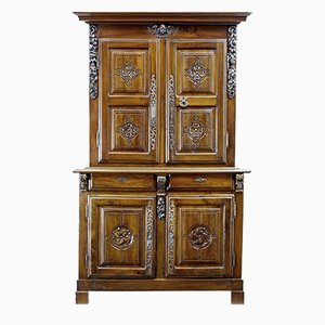 18th Century Antique French Walnut Buffet Du Corps