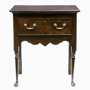 18th Century Small Yew Wood Side Table