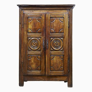 Antique French Fruitwood Armoire