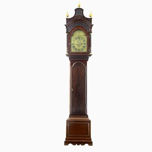 18th-Century Mahogany Longcase Grandfather Clock from Conyers Dunlop London