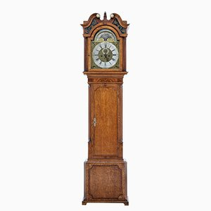 18th Century Oak Long Clock from James Sandiford of Manchester