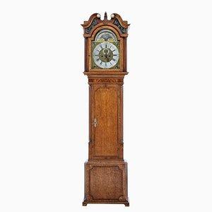 Lange Uhr aus Eiche von James Sandiford aus Manchester, 18. Jh.