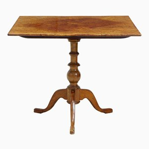 Square Antique Tilt Top Table