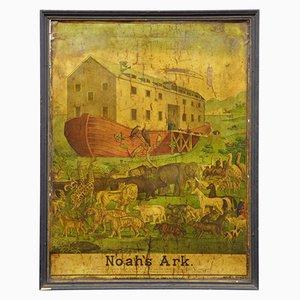Poster raffigurante l'arca di Noè di Haasis e Lubrecht, Stati Uniti, XIX secolo