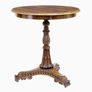 Antique Carved Rosewood Occasional Table