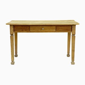 Antique Pine Victorian Kitchen Table