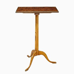 Antique Burr Walnut Occasional Table