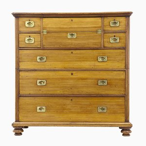 Antique Military Style Chest of Drawers