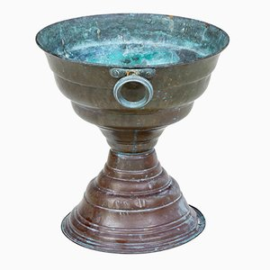 19th-Century Copper Tazza Cup