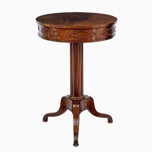 Antique Danish Mahogany Occasional Table