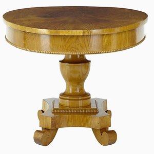 Table d'Appoint Centrale Antique en Orme