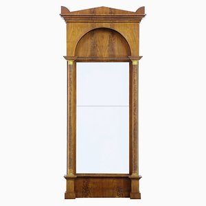 Antique Empire Mahogany Pier Mirror