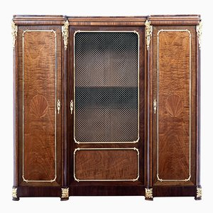 Antique French Mahogany Cabinet