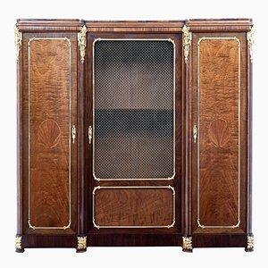 Antique French Mahogany Cabinet