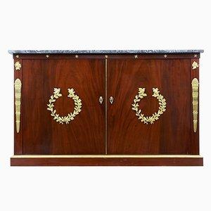 Mueble francés Imperio de caoba del siglo XIX
