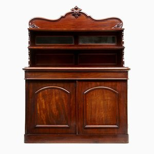 Antique French Mahogany Chiffonnier Sideboard