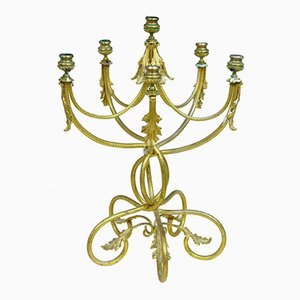 Antique French Ormolu Candelabrum