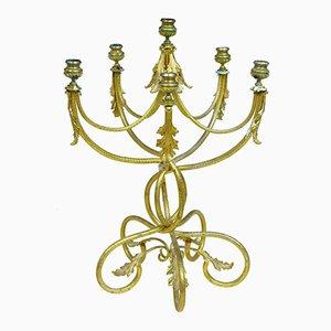Antiker französischer Ormolu Kandelaber