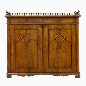 Antique Mahogany Cupboard