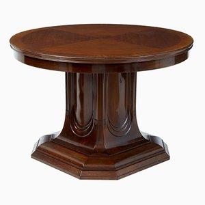 Säulentisch aus Mahagoni, 19. Jh.