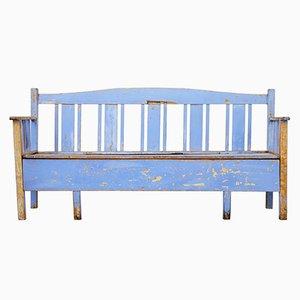 Antique Swedish Pine Bench