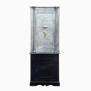 Antique Polished Steel Safe