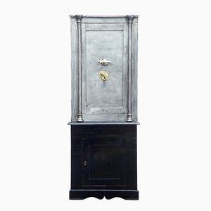 Antique Polished Steel Safe