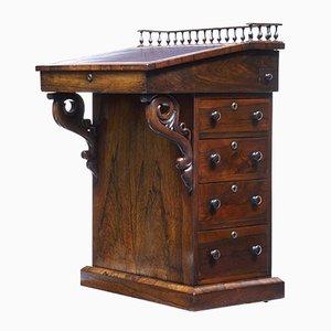 Scrivania Davenport in palissandro, XIX secolo