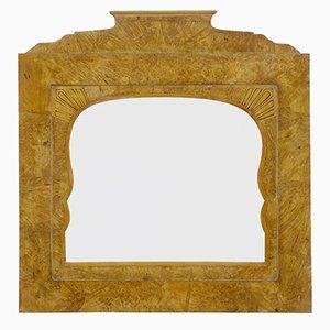 Russian Root Birch Overmantle Mirror, 1830s