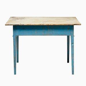 Tavolo antico rustico in legno di pino