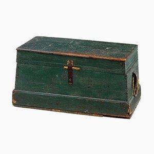 19th Century Swedish Rustic Pine Box