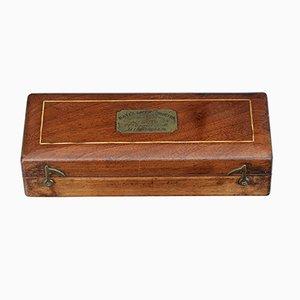 Set de Saccharomètres Bate Antique en Acajou de R. Bailey de Birmingham