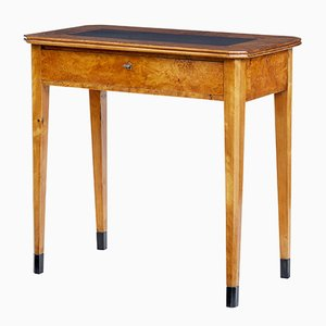 Antique Swedish Alder & Birch Side Table