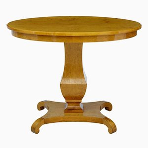 Tavolino in betulla, Svezia, XIX secolo