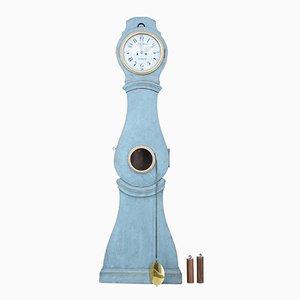 Reloj sueco antiguo pintado