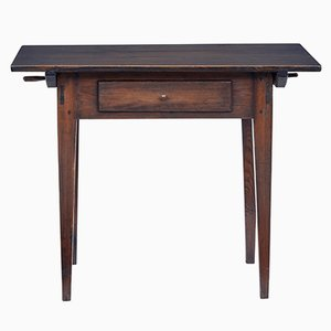 Table d'Appoint Antique en Pin Teinté, Suède