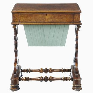 19th-Century Walnut Occasional Table