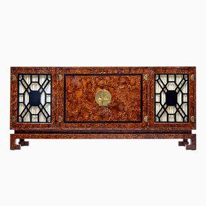 Vintage Sideboard aus Wurzelholz im Art Deco-Stil