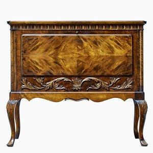 Mueble para cubertería Mid-Century de madera nudosa de abedul de Bodafors, años 50
