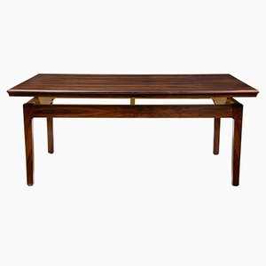Danish Height-Adjustable Rosewood Coffee Table, 1960s