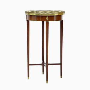 Vintage Empire Style Occasional Mahogany Table